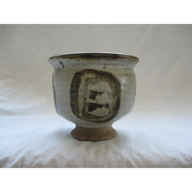 Mid-Century Studio Pedestal Bowl - Image 2 of 6
