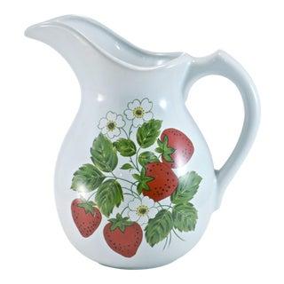 McCoy Strawberry Farmhouse Vase