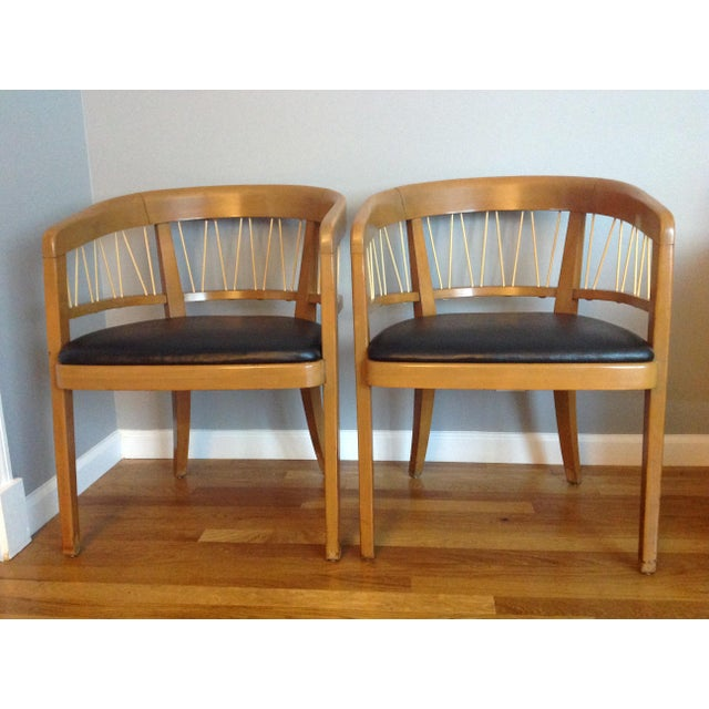 Edward Wormley for Drexel Armchairs - A Pair - Image 2 of 11