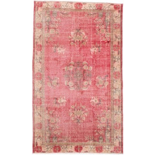"Melis Vintage Turkish Rug - 5'5"" x 9'1"""