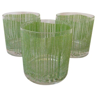 Georges Briard Vintage Bar Glasses - Set of 3