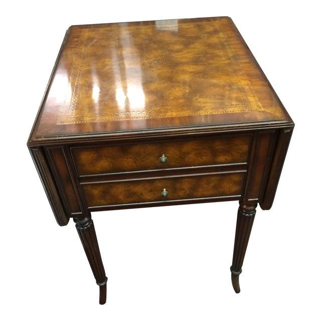 Theodore alexander pembroke side table chairish for 10 wide end table