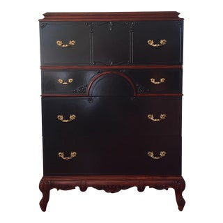 Antique French Provincial Highboy