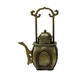 Chinese Handmade Bronze Teapot