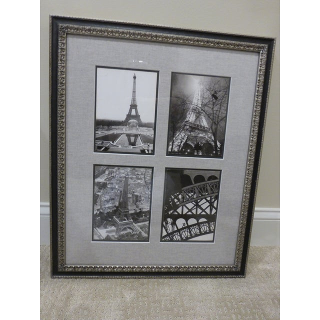 Image of Photographs of Eiffel Tower in 1938 - Framed