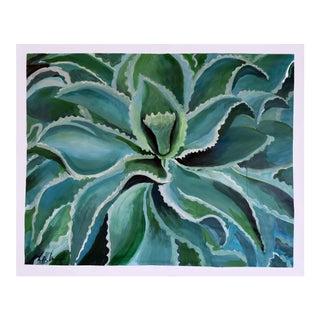 Sensuous Succulent Painting