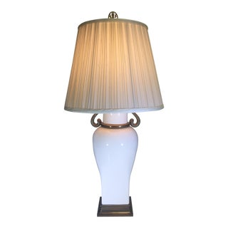 Chapman Table Lamp With Decorative Swan Motif