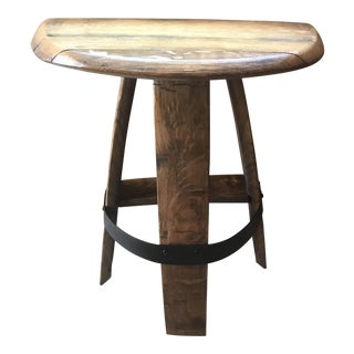 Barrel Planter End Table