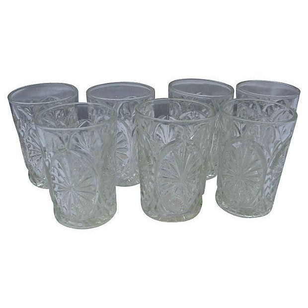 Image of 1950's Juice Glasses - Set of 7