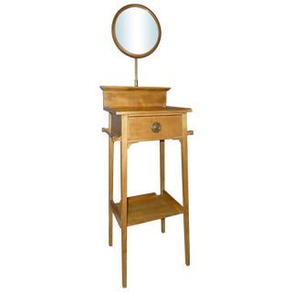 Antique Arts & Crafts Gentleman's Shaving Stand