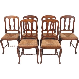 Louis XV-Style Chairs - Set of 6