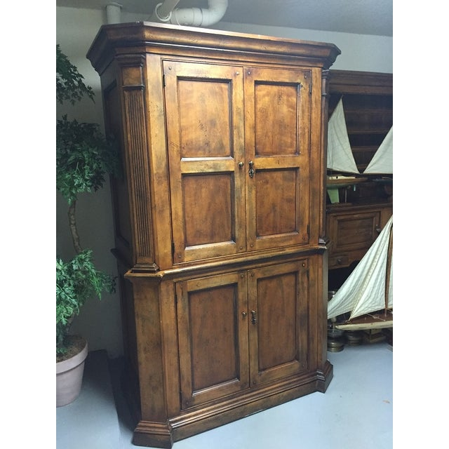 Image of Henredon Ralph Lauren Armoir Media Center Cabinet
