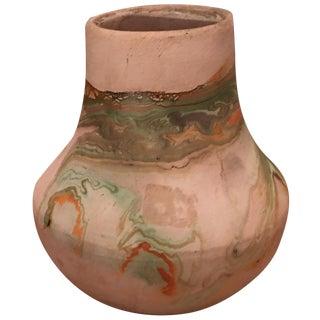 Green & Clay Nemadji Pottery Vase