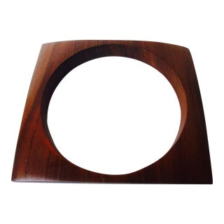 Modernist Hawaiian Koa Wood Picture Frame