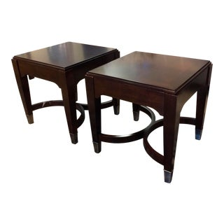 Bassett Cosmopolitan Bunching Side Tables - A Pair