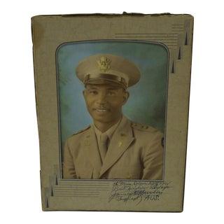 Vintage World War II Army Chaplain Photo