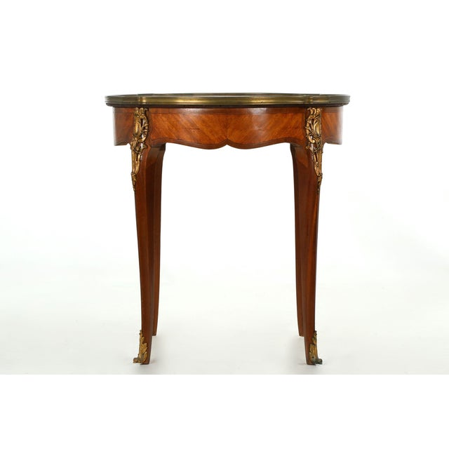 French louis xv gueridon side table c 1900 chairish - Table de chevet louis xv ...