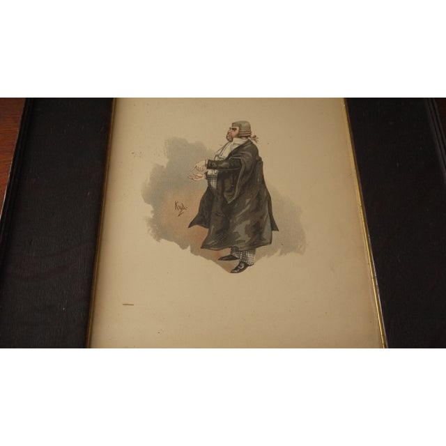 Framed 'Your Honor' Judge Print - Image 5 of 7