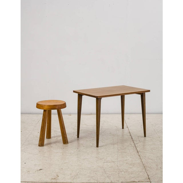 Palle Suenson Small Wooden Side Table, Denmark, 1940s - Image 7 of 9