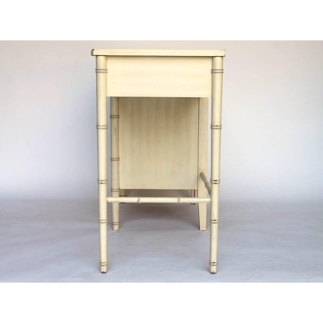 Image of Henry Link Bali Hai Faux Bamboo Desk