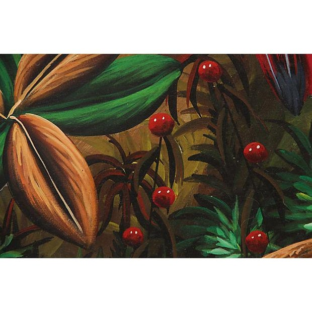 Image of Tropical Oil on Canvas