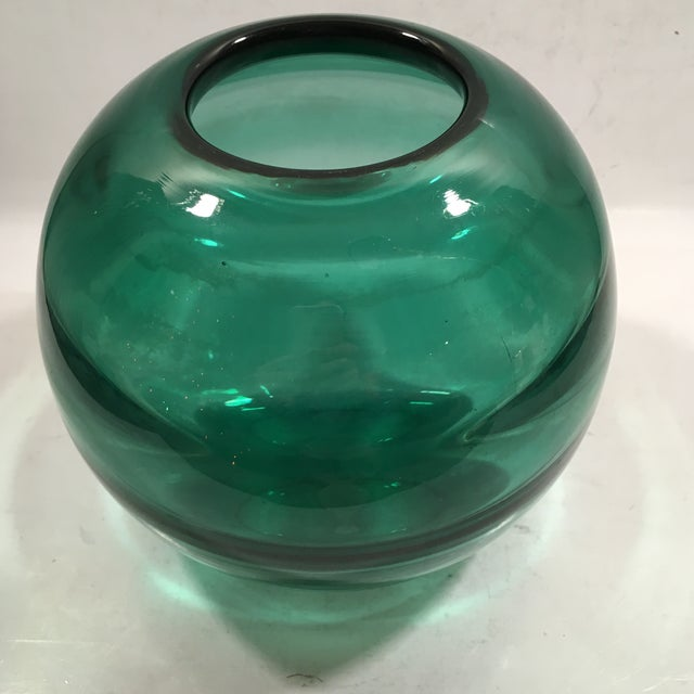 Art Deco Orrefors Optic Ribbed Vase by Edward Hald - Image 5 of 8