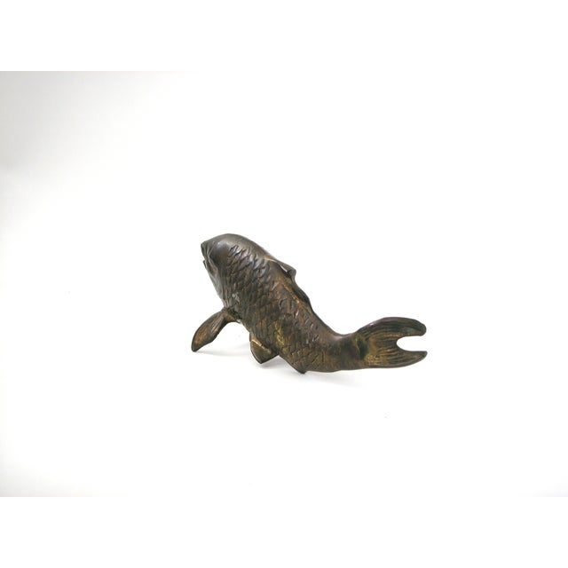 Image of Brass Koi Fish