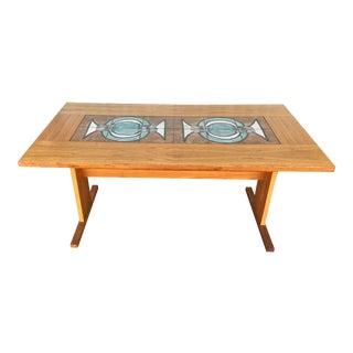 Mid-Century Tile Dinning Table