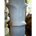 Image of Great Heavy Plaster Palm Tree Lamp
