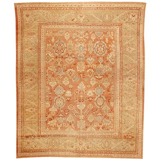 Exceptional Mid-19th Century Persian Sultanabad Carpet