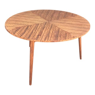 Mid-Century Three Legged Dining Table