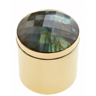 Blue Gemstone Ring Box