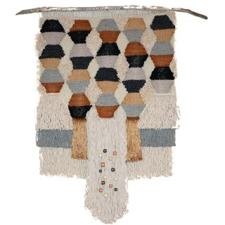 Willow Brooke Geometric Woven Wall Hanging