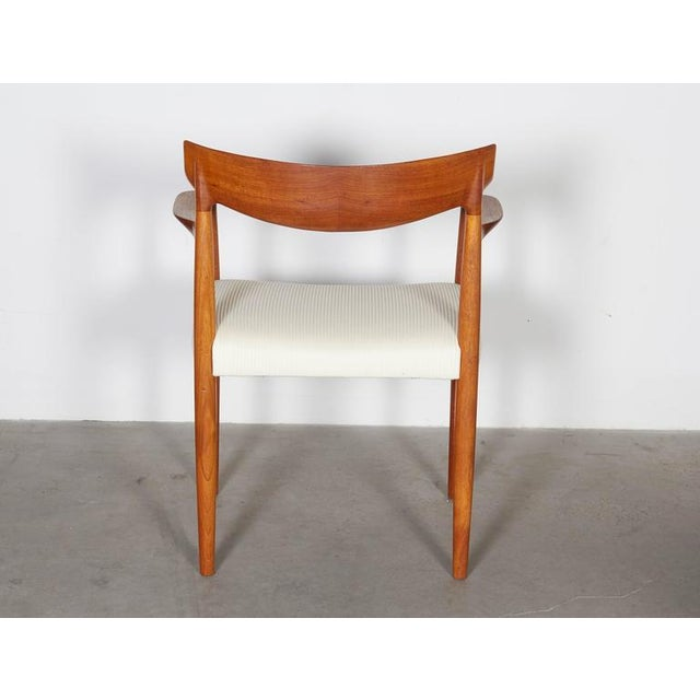 Danish Modern Arm Chairs by Knud Faerch, Pair - Image 7 of 8