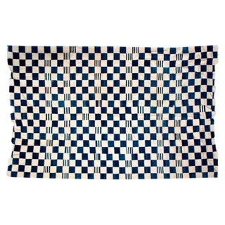 Antique Handwoven Dogon Indigo Blanket