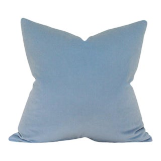 Powder Blue Velvet Pillow Cover