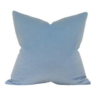 Powder Blue Velvet Pillow Cover