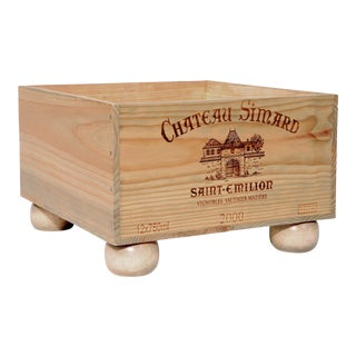 Wooden Wine Storage Crate