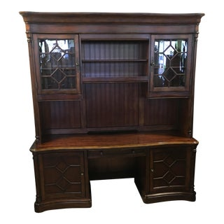 Hooker Desk and Hutch