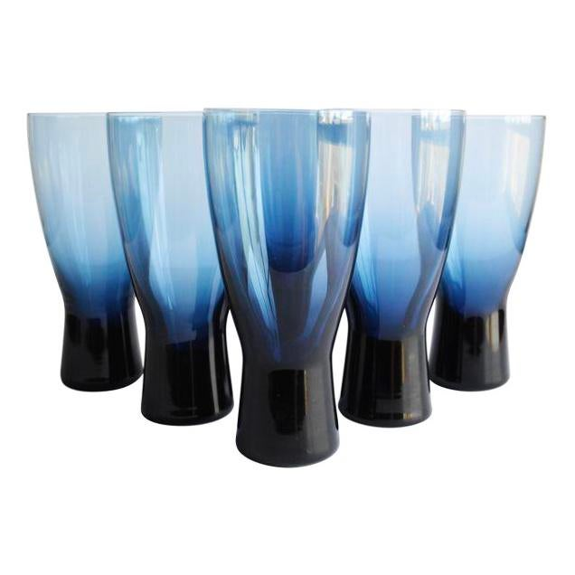 Mid-Century Highball Glasses - Set of 6 - Image 4 of 4