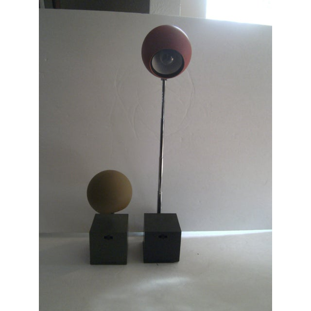 Image of Vintage Telescoping Spotlights - A Pair