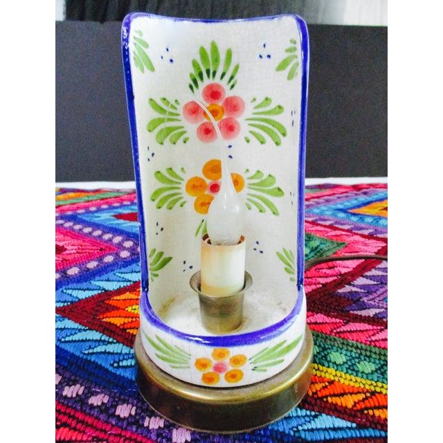 Boho Glam Ceramic Antique Candle Light - Image 9 of 10