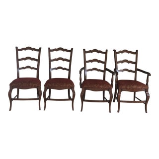 Mahogany Dining Chairs - Set of 4