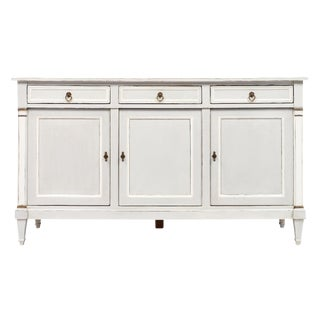 French Directoire Style Painted Buffet