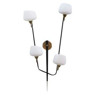 Large Italian Multiarm Wall Sconce by Arlus
