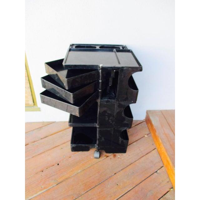 Joe Colombo Mid-Century Italian Black Boby Cart - Image 11 of 11