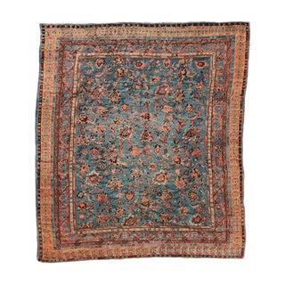 Antique Angora Oushak Carpet