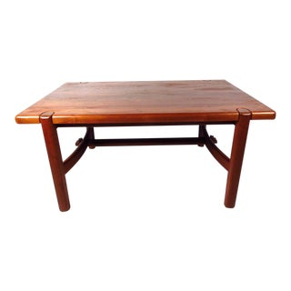 Mid-century Modern Danish Teak Dining Room Table