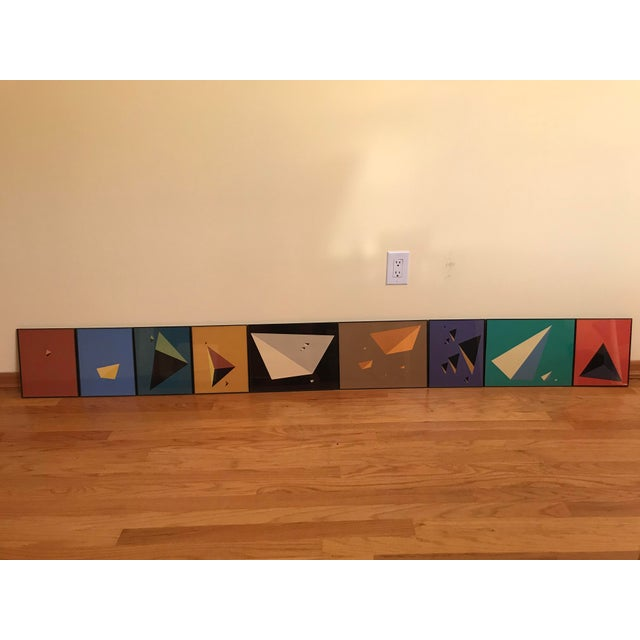 Minimal Abstract Prints of the Solar System - Set of 9 - Image 3 of 10