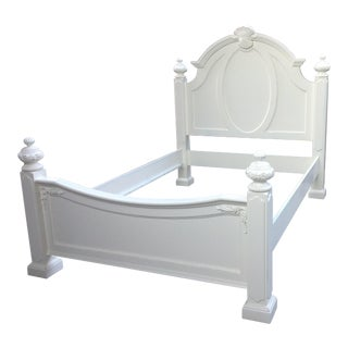 White Painted Queen Bed